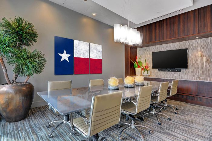 Triptych State Flag Wall Art