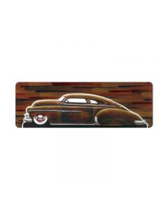 50 Flo LoRide, Automotive, Metal Sign, 24 X 8 Inches
