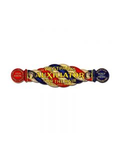 Auxiliator, Nostalgic, Vintage Metal Sign, 28 X 7 Inches
