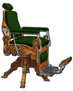 Kochs Barber Chair, Nostalgic, Plasma, 15 X 20 Inches