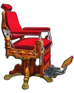Kochs Barber Chair, Nostalgic, Plasma, 16 X 20 Inches