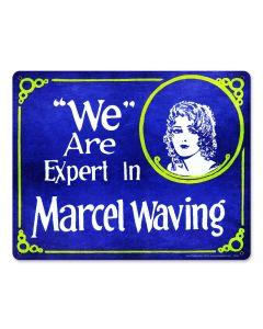 Marcel Waving, Nostalgic, Plasma, 15 X 12 Inches