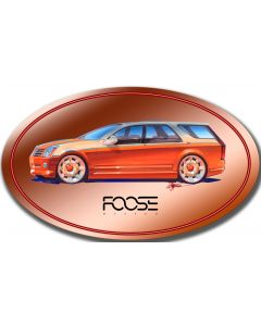 Suv Oval, Featured Artists/Chip Foose Signs, Oval, 24 X 14 Inches