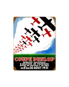 Couple Planes, Aviation, Vintage Metal Sign, 12 X 15 Inches