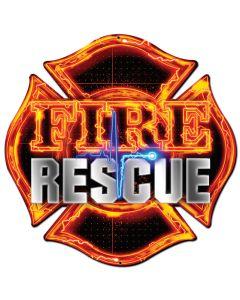 Fire Rescue, Licensed Products/Erazorbits, PLASMA , 16 X 16 Inches