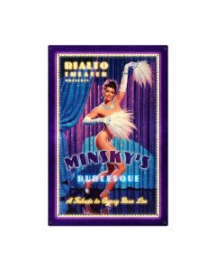 Gypsy Rose, Pinup Girls, Metal Sign, 24 X 36 Inches