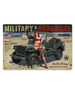Military Hardware, , , 18 X 12 Inches