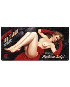 Backseat Baby, Licensed Products/American Beauties by Greg Hildebrandt, Plasma, 36 X 18 Inches