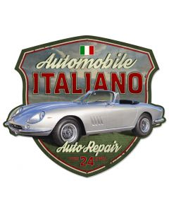 AUTOMOBILE ITALIANO, Licensed Products/American Beauties by Greg Hildebrandt, PLASMA, 30 X 26 Inches