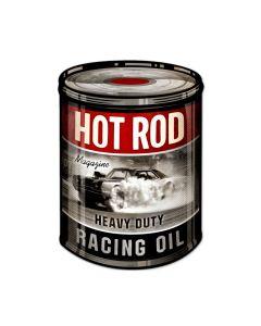 Racing Oil, Automotive, Custom Metal Shape, 14 X 20 Inches