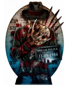 DIG003 - FREDDY, Patriotic, Metal Sign, Wall Art, 28 X 40 Inches