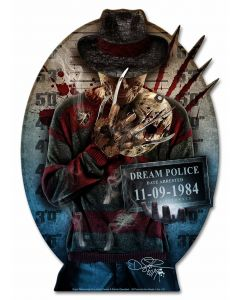 DIG004 - FREDDY, Patriotic, Metal Sign, Wall Art, 14 X 20 Inches