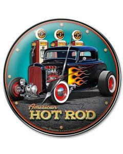 1932 Deuce Coupe Fill-up, Automotive, Metal Sign, Wall Art, 14 X 14 Inches