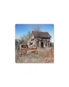 AIF026, Home & Garden, Metal Sign, Wall Art, 12 X 12 Inches