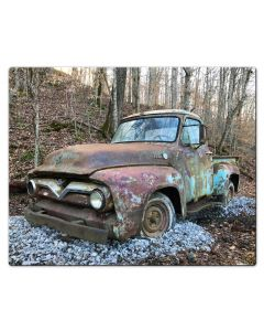 1954 Ford Pickup, Home & Garden, Metal Sign, Wall Art, 30 X 24 Inches