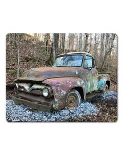 1954 Ford PIckup, Home & Garden, Metal Sign, Wall Art, 15 X 12 Inches