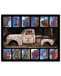 NOB With Signs, Home & Garden, Metal Sign, Wall Art, 50 X 40 Inches