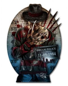 DIG022 - FREDDY, Patriotic, Metal Sign, Wall Art, 9 X 12 Inches