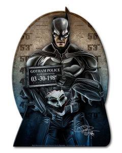 DIG028 - THE BAT, Patriotic, Metal Sign, Wall Art, 9 X 12 Inches