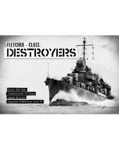 Fletcher Destroyers, Military, Metal Sign, Wall Art, 18 X 12 Inches