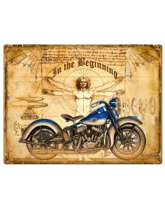 Devinci Bike Vintage Sign, Other, Metal Sign, Wall Art, 24 X 18 Inches