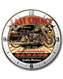 Last Chance Bike, Other, Metal Sign, Wall Art, 14 X 14 Inches