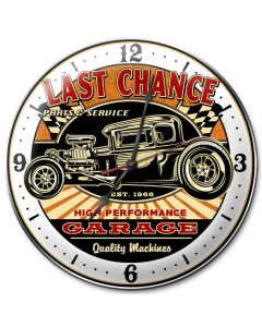 Last Chance Rod, Other, Metal Sign, Wall Art, 14 X 14 Inches