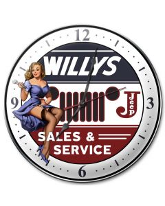 Willys, Other, Metal Sign, Wall Art, 14 X 14 Inches