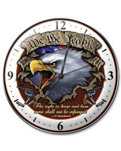 We The People, Other, Metal Sign, Wall Art, 14 X 14 Inches