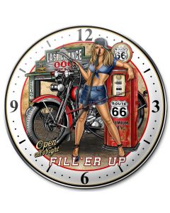 Fill Er Up, Other, Metal Sign, Wall Art, 14 X 14 Inches