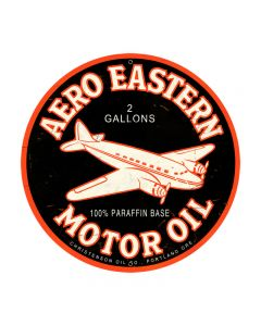 Aero Eastern Vintage Sign, Aviation, Metal Sign, Wall Art, 28 X 28 Inches