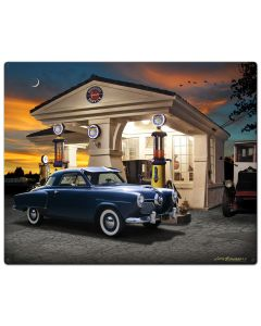 1950 Studebaker, Automotive, Metal Sign, Wall Art, 24 X 30 Inches