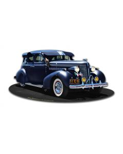 1939 Lowrider, Automotive, Metal Sign, Wall Art, 18 X 8 Inches