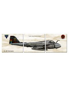 A-6E Intruder, Aviation, Metal Sign, Wall Art, 16 X 14 Inches
