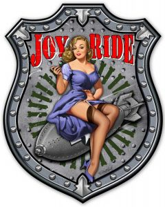 Joy Ride, Other, Metal Sign, Wall Art, 38 X 48 Inches