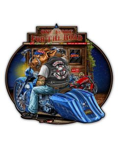 BAGGER, New Products, Metal Sign, Wall Art, 14 X 13 Inches