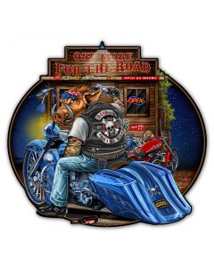 Bagger, New Products, Metal Sign, Wall Art, 30 X 28 Inches