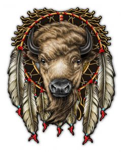 BUFFALO, Other, Metal Sign, Wall Art, 14 X 18 Inches