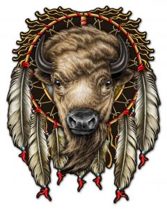BUFFALO, Other, Metal Sign, Wall Art, 23 X 30 Inches