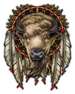 BUFFALO, Other, Metal Sign, Wall Art, 29 X 37 Inches