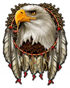 W EAGLE DREAM, Other, Metal Sign, Wall Art, 23 X 30 Inches