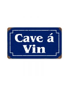 Wine Cellar Vintage Sign, Bar and Alcohol , Metal Sign, Wall Art, 14 X 8 Inches
