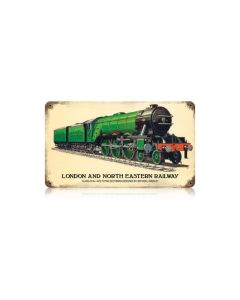 London And North Eastern Railway Vintage Sign, Trains, Metal Sign, Wall Art, 14 X 8 Inches