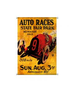 Milwaukee 1913, Automotive, Giclee Printed Canvas, 25 X 36 Inches