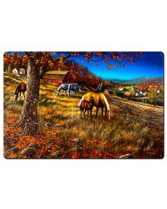 Hillside Gathering, Featured Artists/Jim Hansel Art, Satin, 36 X 24 Inches