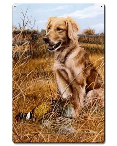 A Friend In The Field, Featured Artists/Kevin Daniel Art, Satin, 16 X 24 Inches