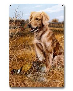 A Friend In The Field, Featured Artists/Kevin Daniel Art, Satin, 12 X 18 Inches