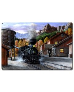 Train New, Featured Artists/Kevin Daniel Art, Satin, 36 X 24 Inches