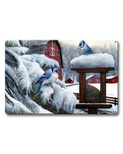 Blue Jays, Featured Artists/Kevin Daniel Art, Satin, 18 X 12 Inches