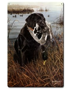 A Friend In The Marsh, Featured Artists/Kevin Daniel Art, Satin, 16 X 24 Inches